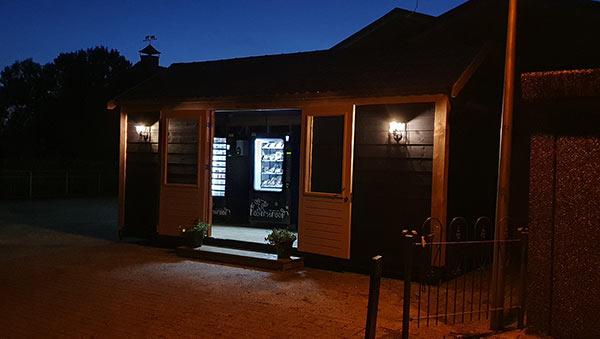 De Kalverstraat - Winkel avond